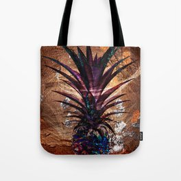 Copper Leaf Pineapple Art #buyart Tote Bag