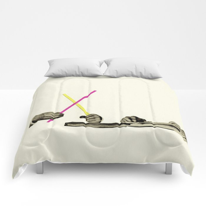 Let's Play Pick-Up Sticks Comforters