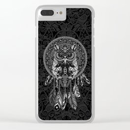 Indian Native OwL Dream Catcher iPhone 4 4s 5 5s 5c, ipod, ipad, pillow case and tshirt Clear iPhone Case