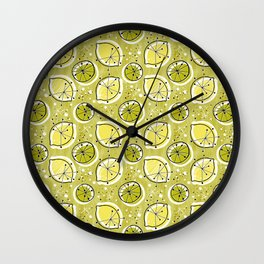 Atomic Lemonade_Green Wall Clock