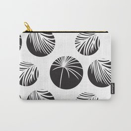 Palm leaves in circles Carry-All Pouch