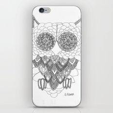 Angelina Bowen Fine Art Print- Owl iPhone & iPod Skin