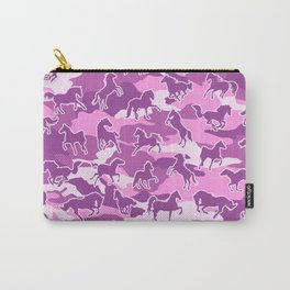 Horse Camo PINK Carry-All Pouch