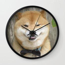 macho gentleman Wall Clock