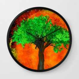THE FOREVER TREE Wall Clock