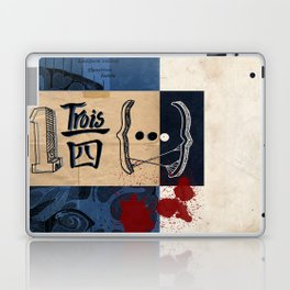 one and three quarters of things Laptop & iPad Skin