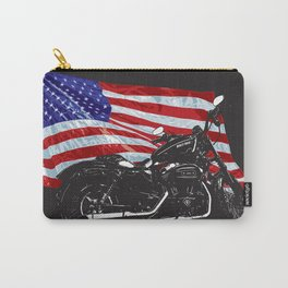 DARK HARLEY SPORTSTER MOTORCYCLE Carry-All Pouch