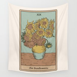The Sunflowers Wall Tapestry