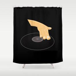 Dj Scratch Shower Curtain