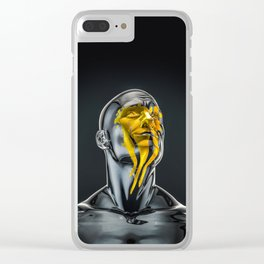 Love is the Only Gold Clear iPhone Case