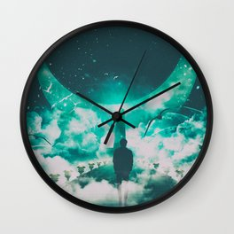 LIGHT OF HOPE #2 Wall Clock