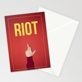 riot Stationery Cards