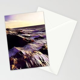 Jamestown Lighthouse, Jamestown RI Stationery Cards