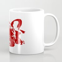 frenchie Mugs featuring Frenchie by Red Eyes Apparel
