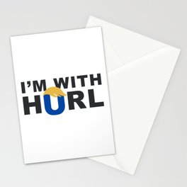 i'm with hurl Stationery Cards