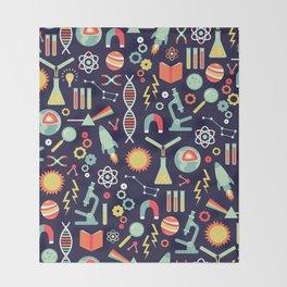 Science Studies Throw Blanket