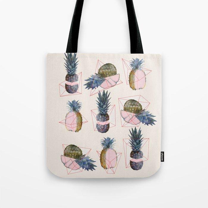 NEW geometric, pineapple!! Tote Bag
