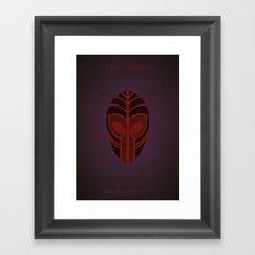 DrFacilier | Villains do It Better Framed Art Print