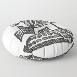 Windmill Floor Pillow