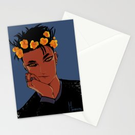 crowned warlock Stationery Cards