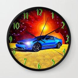 2012 Mustang GT Wall Clock