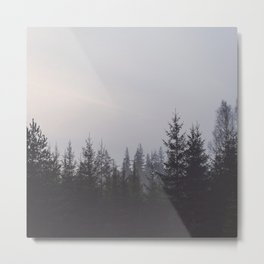 LOST IN THE NATURE Metal Print
