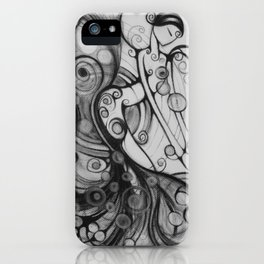 Sometimes Music Makes No Sound iPhone Case
