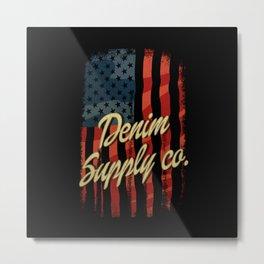 Denim Supply Company Metal Print