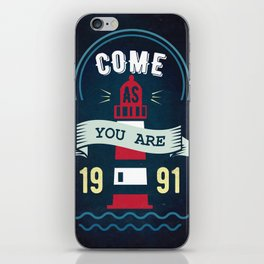 come as you are iPhone Skin