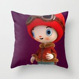 ShroomZee Naut Throw Pillow