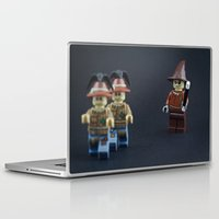 minions Laptop & iPad Skins featuring Go forth my minions by InkBlot