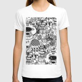 Dark Matter Space Machine T-shirt