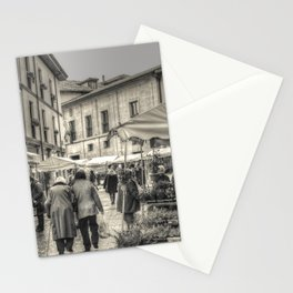 The market Stationery Cards