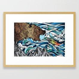 Catch Framed Art Print