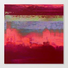 14-42-41 (City Glitch) Canvas Print