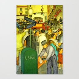 The Mail is always Delivered Canvas Print