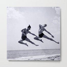 Ballet Monte-Carlo Beach Deux Metal Print