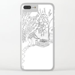 beegarden.works 001 Clear iPhone Case