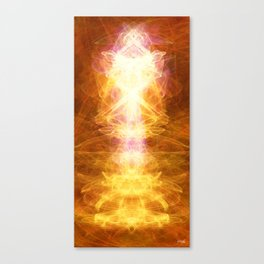 *TAP INTO UNIVERSAL ENERGY *reposting for Greeting Card addition Canvas Print