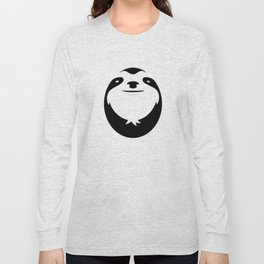 The Majestic Sloth Long Sleeve T-shirt