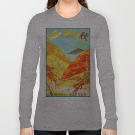 Vintage poster - Japan Long Sleeve T-shirt