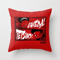 Akira! Throw Pillow