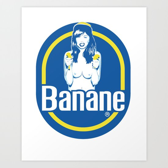 Banane Art Print