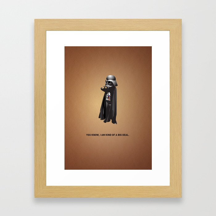 A Big Deal Framed Art Print