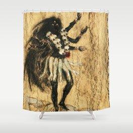 Hindu Kali 13 Shower Curtain