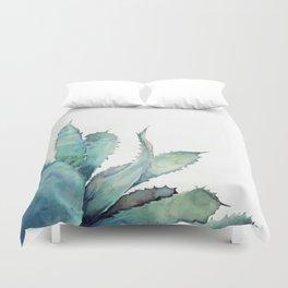 Aloe Watercolor Duvet Cover