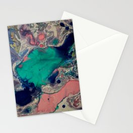 marble one Stationery Cards