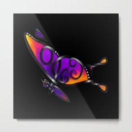 Celtic Butterfly Metal Print
