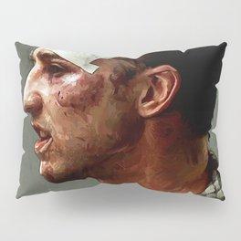 Portrait Of The Narrator - I'd Fight Gandhi Pillow Sham