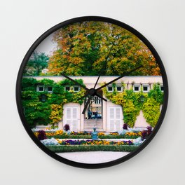 Garden pretty Wall Clock